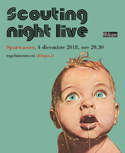 Scouting Night Live con Oblique Studio
