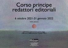 corso principe per redattori editoriali ottobre 2021