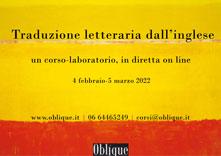 corso di traduzione letteraria di Oblique Studio