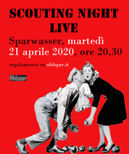 scouting night live 21 aprile 2020