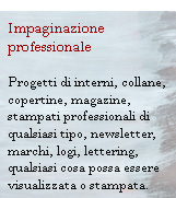 impaginazione professionale di qualsiasi stampato, indesign, quarkxpress